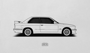 COMMISSION: BMW M3 / E30 by AeroDesign94