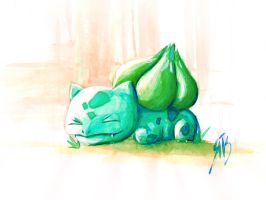 Bulbasaur by RubiDi