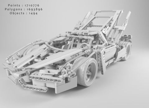 Lego - Technic by ErykFearLPF