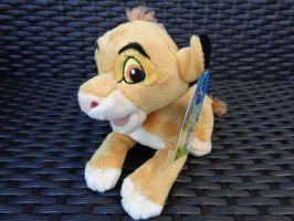 Unknown Simba plush by Gallade007