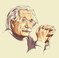 albert einstein by gilbert86II