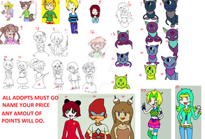 Name Your Price Adopts MUST GO 7/31 Sold  Open by Ask-LilyandRoy