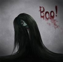 Daily 1 - The Grudge by Cryptid-Creations