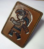 A Link Between Worlds Leather Card Wallet by Kaje202