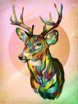 Prismatic Cervus by beautyfromlight