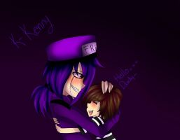 Vicent (Purple Guy) and Kenny - FNAF by InfectiosKoali