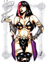 Savage Land Gothica commission by gb2k