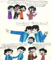 Beatles and Beatles and Beatles by Strabius