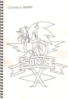 Sonic X Cover Page by Jonroski