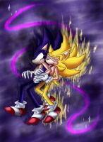 DarkSonic X Fleetway by SonicXLelile