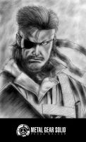 MGS Peace Walker Big Boss by finaladventure