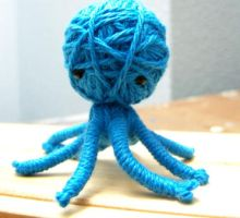 String Octopus by windowfog