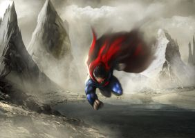 Superman by ACWart