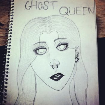Ghost Queen by tigerlover71439325
