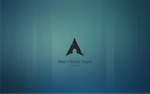 Arch linux - KISS by abhinandh