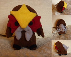 Entei Plush by Plush-Lore