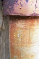 rusty pipe by Lyssi