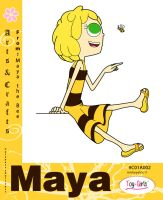 Toy Girls - Arts and Crafts Series 2: Maya by mickeyelric11