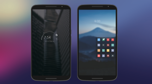Nexus 6 setup by HeroMan90
