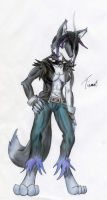Anthro Wolf Me by TheMistressTiamat