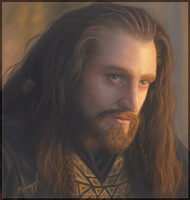 Thorin Escudo de Roble by Nyph-Atzbel