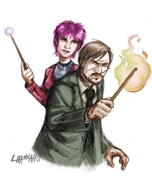 Remus and Dora by hnl