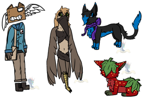 Mixed Adopts OPEN 1/4 by GlassFeline