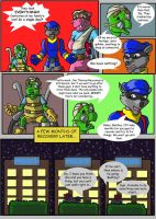 Sly Cooper: Thief of Virtue Page 3 by ConnorDavidson