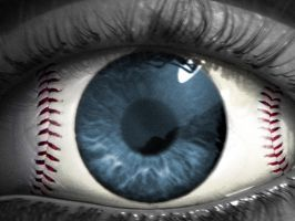 Baseball Eye by Siccie