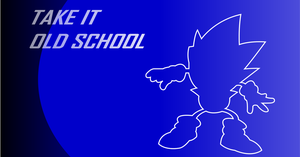 Classic Sonic Desktop Wallpaper by BlueLightning50