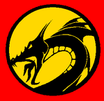 Red Dragon Thunder Power Coin by supaman2525