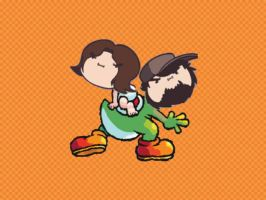 Yoshi's Island: Game Grumps by captainfranko