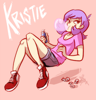 Art Trade: Kristie by ky-nim