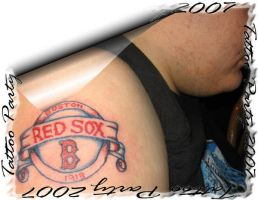 Red Sox by cherokeeangel13