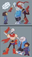More Undertale by MadJesters1