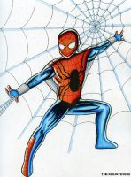 Commission- Ben Reilly Spider Man by TheXHunter08