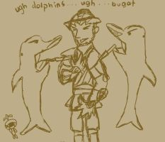 Ugh Dolphins by meltyzombie
