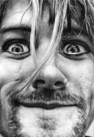 Kurt cobain by whitejudit