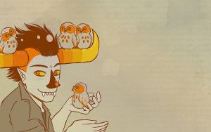 Wallpaper - Tavros Nitram by jessiejazz