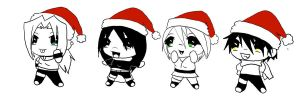 Christmas Dec. - Team 13 by Hiita-sama