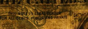 This Note Is Legal Tender by CPDigitalDarkroom