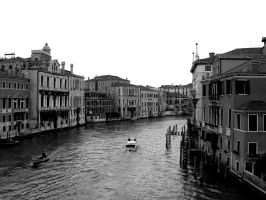 Venice 3 - Black and White by jpa