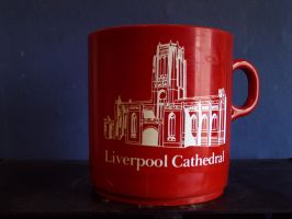 Liverpool Cathedral Plasic Mug by theoldhorse2