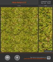 Moss Pattern 1.0 by Sed-rah-Stock