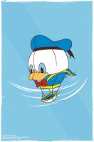 donald the flying duckman by ghozai