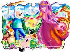 Adventure Time by Sayaka-ssi