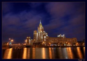 No 7. Moscow s gold by UrbanShots