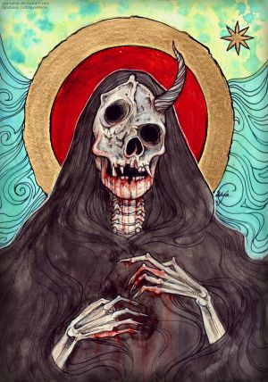 Saint of the Deformed and Mangled by Aya-Lunar