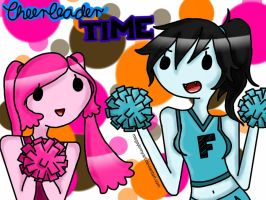 Cheerleader TIME! by MegaJennyArt