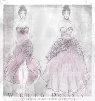 Wedding Dresses design by EwaGeruzel